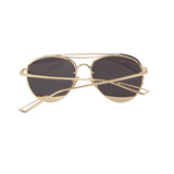Round Chopper Aviator Sunglasses