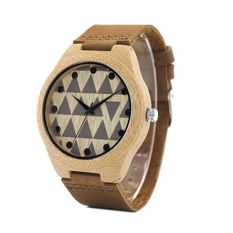 Unisex Wood Watch - Sand Dune