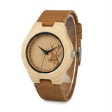 Deer Face Wooden Watch - Watches for Her