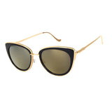 Metal Blend Cat Eye Sunglasses
