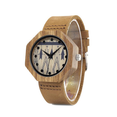 Wooden Watch Ladies