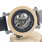 Wooden Watch with Pinewood Dial Face