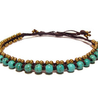 ( SHANKAR ) Beaded wrap bracelet. • Lead & nickel free. • Handmade