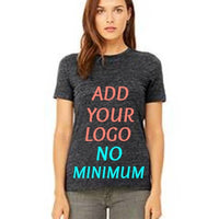 Custom Ladies' Relaxed Jersey Short-Sleeve T‑Shirt