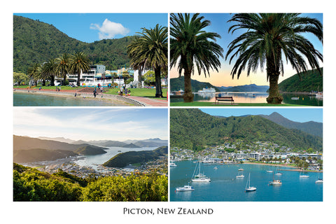 018 - Post Art Postcard - Picton Composite