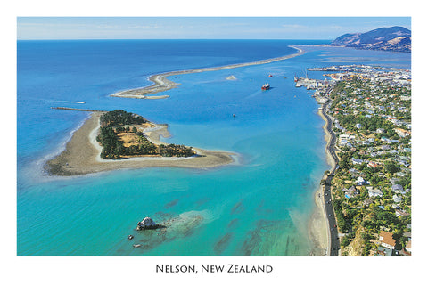 021 - Postcard - Port Nelson Rocks Rd