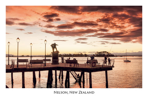 022 - Post Art Postcard - The Cut, Port Nelson