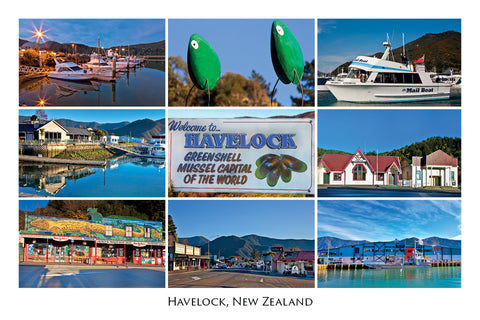 042 - Post Art Postcard - Havelock Composite