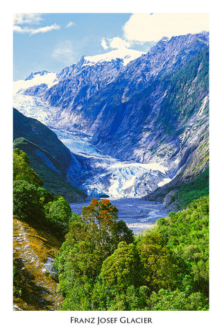 109 - Post Art Postcard - Franz Josef Glacier