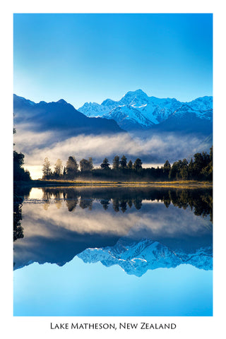 113 - Post Art Postcard - Lake Matheson