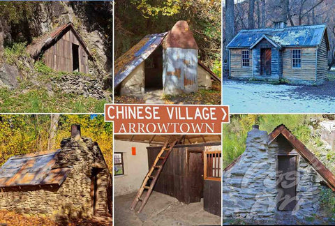 139 - Post Art Postcard - Chinese Village Arrowtown