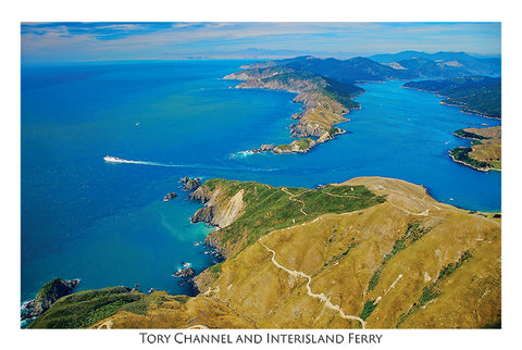 015/9 - Postcard - Heads of Tory Channel