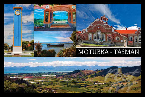 17 - Post Art Postcard - Motueka Medley