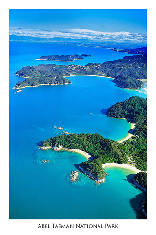 1 - Post Art Postcard - Abel Tasman Coast