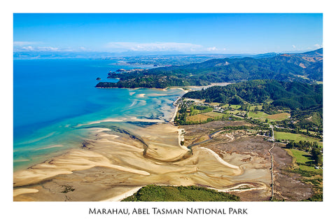 20 - Post Art Postcard - Marahau, Abel Tasman National Park