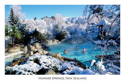 210 - Post Art Postcard - Hanmer Springs Winter