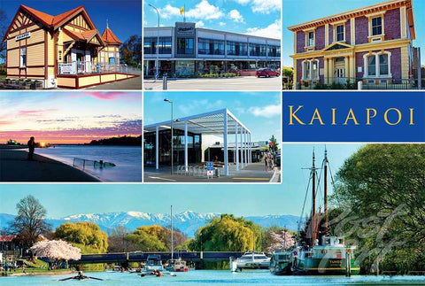 219 - Post Art Postcard - Kaiapoi Composite