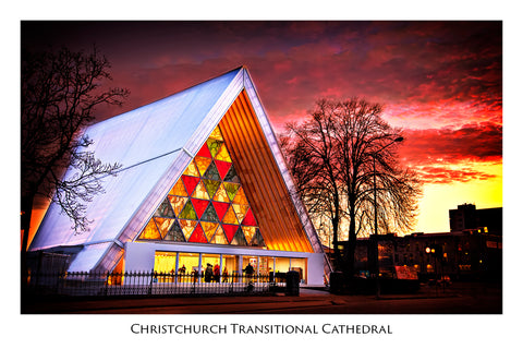 234 - Post Art Postcard - Christchurch Transitional Cathedral