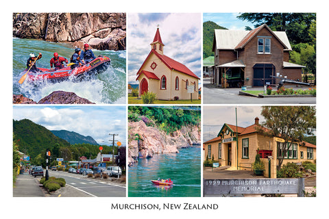 23 - Post Art Postcard - Murchison Composite