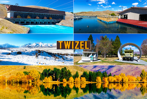 261 - Post Art Postcard - Twizel Composite