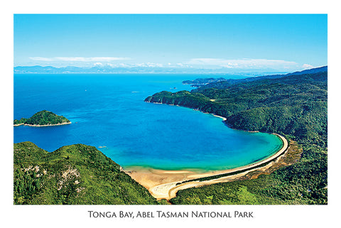 26 - Post Art Postcard - Tonga Bay