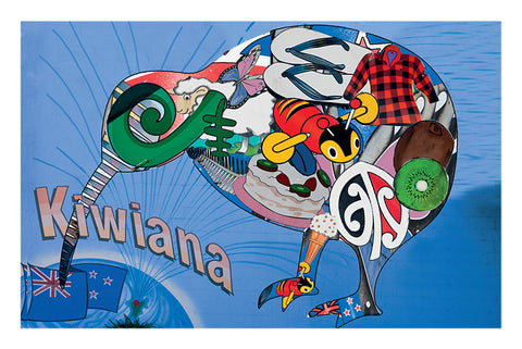 277 - Post Art Postcard - Kiwiana