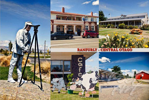 279 - Post Art Postcard - Ranfurly Composite