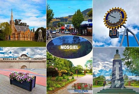 300 - Post Art Postcard - Mosgiel Composite