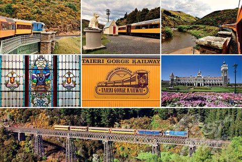 302 - Post Art Postcard - Taieri Gorge Railway