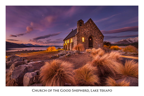 505 - Post Art Postcard - Postcard - Church of the Good Shepherd