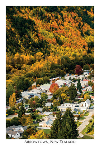 509 - Post Art Postcard - Postcard - Arrowtown in Autumn