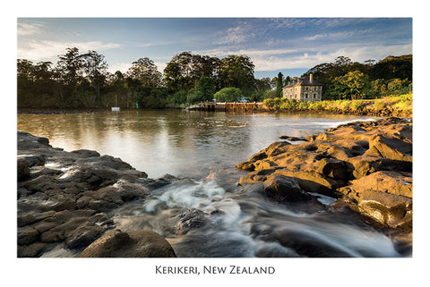 523 - Post Art Postcard - Kerikeri