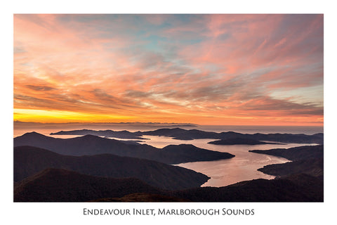 535 - Post Art Postcard - Endeavour Inlet