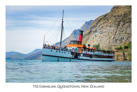 551 - TSS Earnslaw, Queenstown