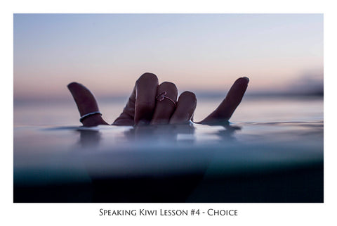 565 - Speaking Kiwi Lesson #4 - Choice