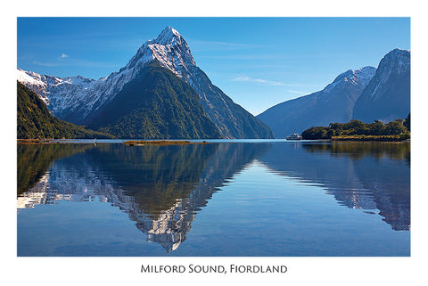 56 - Post Art Postcard - Mitre Peak
