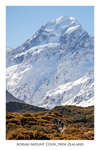 581 - Post Art Postcard - Aoraki Mount Cook