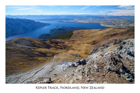 610 - Post Art Postcard - Kepler Track