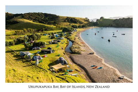 618 - Post Art Postcard - Urupukapuka Bay