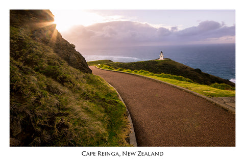621 - Post Art Postcard - Cape Reinga