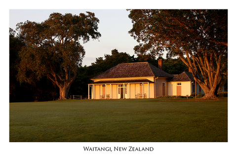 623 - Post Art Postcard - Waitangi
