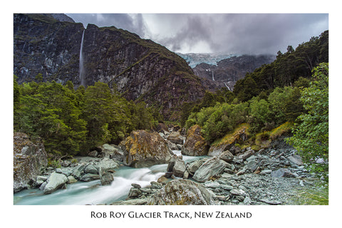648 - Post Art Postcard - Rob Roy Glacier Track