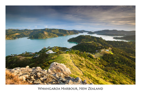 652 - Post Art Postcard - Whangaroa Harbour