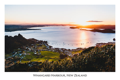 653 - Post Art Postcard - Whangarei Harbour