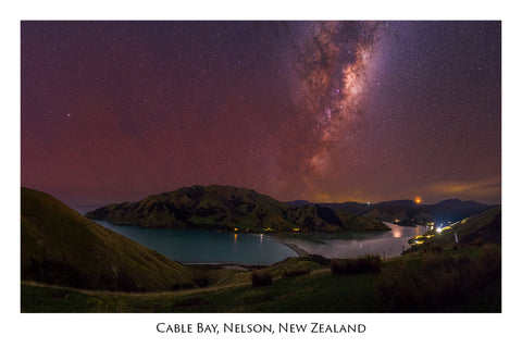 655 - Post Art Postcard - Cable Bay