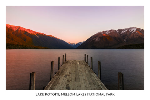 656 - Postcard - Lake Rotoiti Jetty