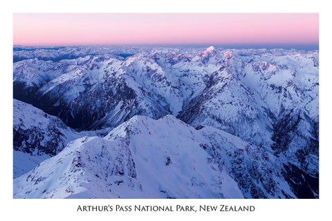 658 - Postcard - Arthurs Pass National Park