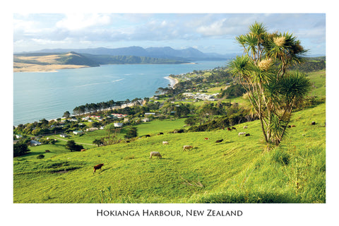 681 - Post Art Postcard - Hokianga Harbour
