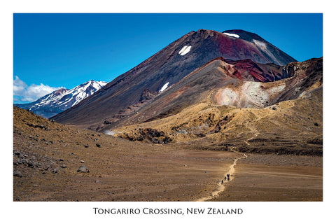 686 - Postcard - Tongariro Crossing