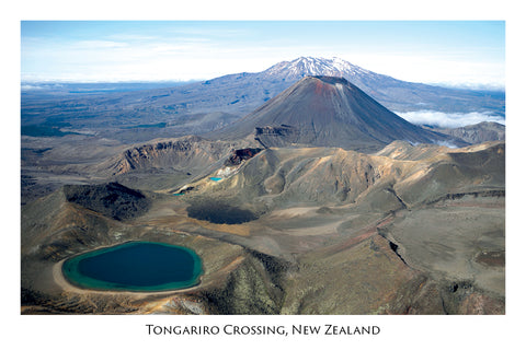 687 - Postcard - Tongariro Crossing
